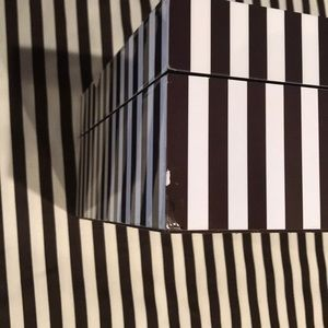 henri bendel Jewelry - This is the large H.B. Striped Jewelry Box.